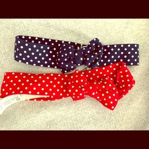 H&M headband bows for baby girl